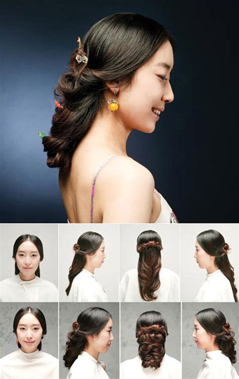 traditional hairstyles  modern beauties  chosun
