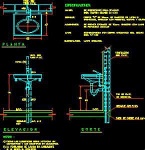 Wash Basin DWG Block for AutoCAD • Designs CAD