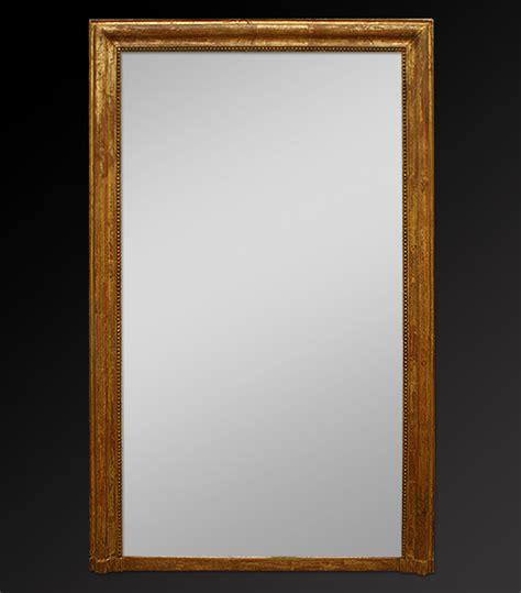 miroirs anciens bois dore grand miroir chemin 233 e louis philippe