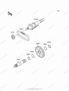 Kawasaki Atv 2001 Oem Parts Diagram For Transmission