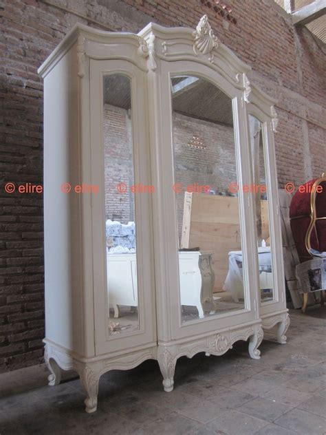 Large Armoire Wardrobe by Bespoke Large Armoire Wardrobe With Mirrors Rococo Solid