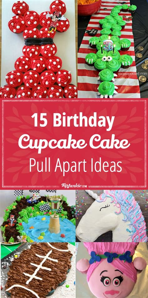 26 birthday cake party ideas tip junkie 15 birthday cupcake cake ideas recipes tip junkie