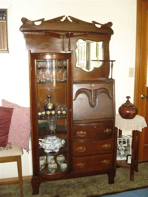 old desk with hutch secretary hutch for sale antiques com classifieds