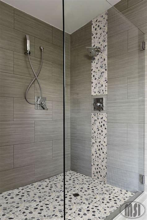 vertical large porcelain tile walls master bathroom