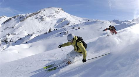 Alpine Mountain Skiing