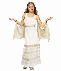 Greek Glamour Goddess Girls Costume - Greek Costumes