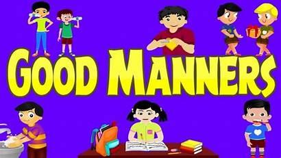 Manners Examples Children Lines Manner Preschool Kindergarten
