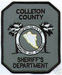 South Carolina - Colleton County Sheriff's Department ...