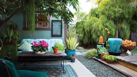 how to decorate a small backyard 23 small yard design solutions sunset magazine sunset magazine