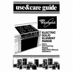 Whirlpool Rs677pxv Specifications
