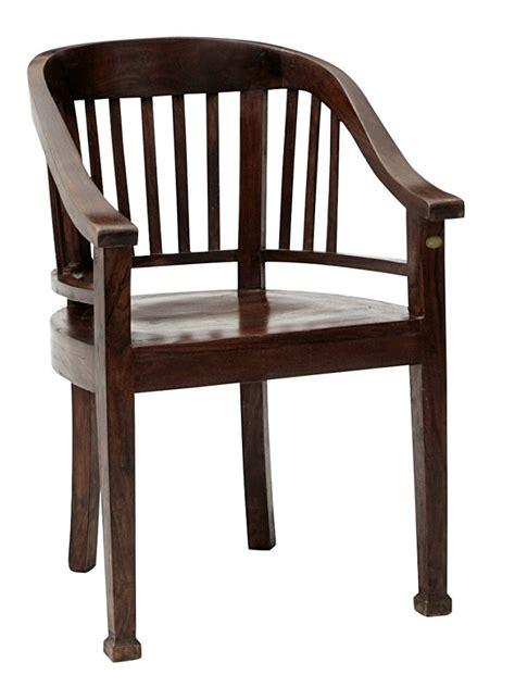 chaise en bois avec accoudoir chaise en bois massif avec accoudoirs style colonial helline