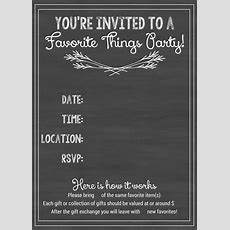How To Host A Favorite Things Party!  How Sweet This Is