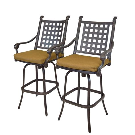 cast aluminum patio furniture with sunbrella cushions