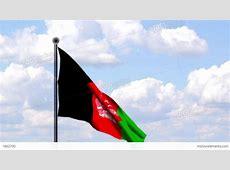 Animated Flag Of Afghanistan Stock Animation 1862790