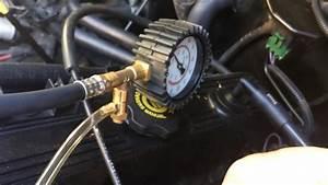 95 Jeep Yj Fuel Pressure Test