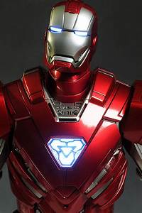 Review and photos of Iron Man Silver Centurion action ...