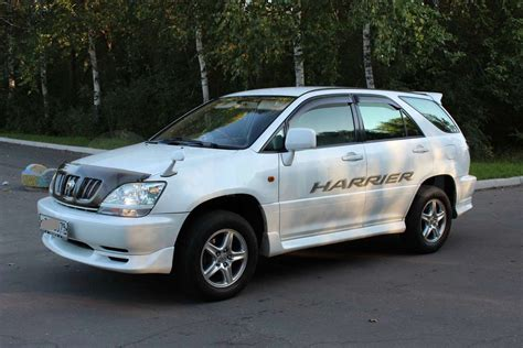 2002 Toyota Harrier Pictures Information And Specs
