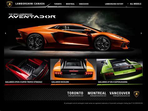 New Car Websites by 26 Great Automotive Websites