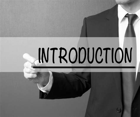 34 The Secret To An Effective Presentation Introduction