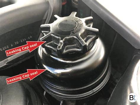 Power steering reservoir cap seal replacement, BMW ...