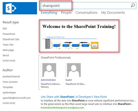 sharepoint 2013 promoted search results technet articles united states technet wiki