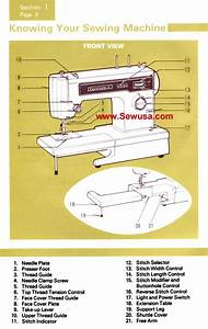 Kenmore Model 1251 Sewing Machine Instruction Manual