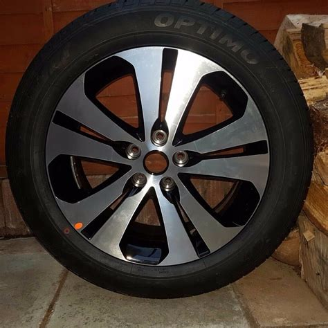 Brand New Kia Sportage Alloy Wheel + Tyre (boot Spare