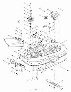 Mtd 13ad604g401  2000  Parts Diagram For Deck Assembly W
