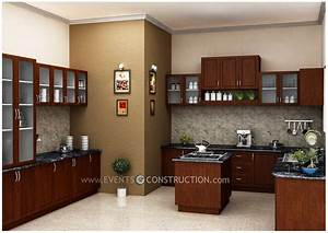 modular kitchen by kerala home design amazing With interior design for kitchen in kerala
