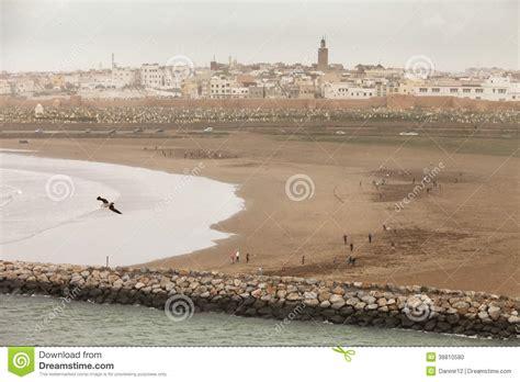 die stadt rabat hauptstadt marokko stockfoto