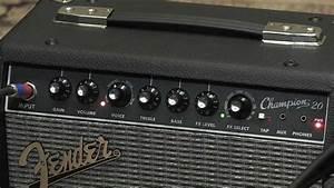 Fender Champion 20 Combo Amplifier Demo