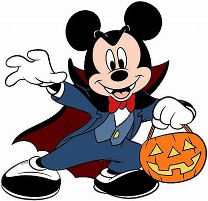 Halloween Vampire Clip Mickey Disney Clipart Mouse