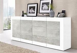 Sideboard Weiß 200 Cm : tecnos sideboard breite 200 cm online kaufen otto ~ Markanthonyermac.com Haus und Dekorationen