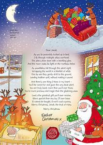 nspcc letters from santa mum of one With baby s first christmas letter from santa template