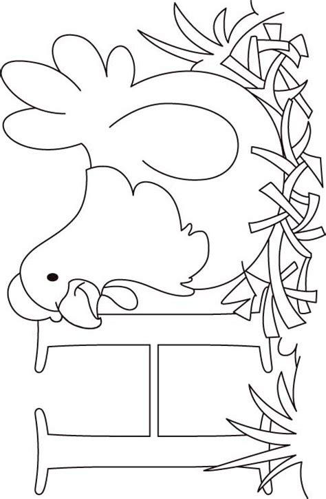hen coloring page  kids     hen coloring page  kids  kids