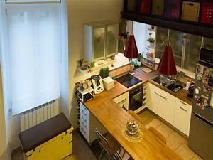 Un appartamento di 55 mq ristrutturato con soppalco