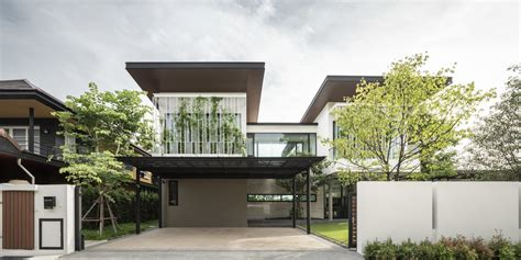 siri house modern home  bangkok thailand  gla design