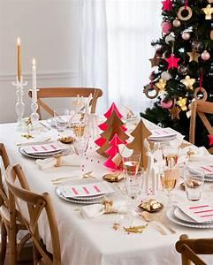 Idee Deco De Table Noel : table de no l 22 id es de d coration de table de no l 2018 ~ Zukunftsfamilie.com Idées de Décoration