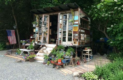 Shed From Recycled Materials by 29 Best Images About Upcycled Reclaimed Material Sheds On
