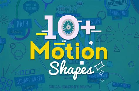 Aftet Effects Templates Nulled by 10 Motion Shapes Free After Effects Templates Free