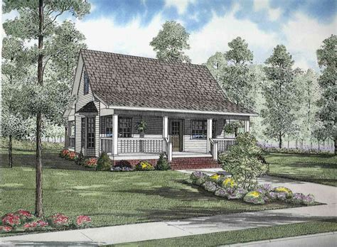 Quaint Country Cottage 59373ND Architectural Designs