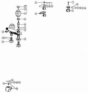 Peerless Lavatory Faucets Parts