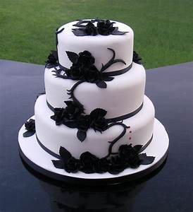 Amazing Black And White Wedding Cakes 40 Pic Awesome