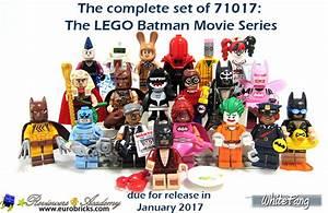 REVIEW 71017 LEGO Minifigures LEGO Batman Movie Series
