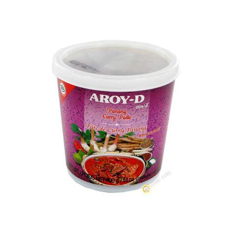 pate de curry panang sauce asiatique pate curry panang 400g