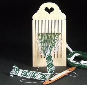 Double Hole Rigid Heddle Tape Loom By Finnsheep On Etsy
