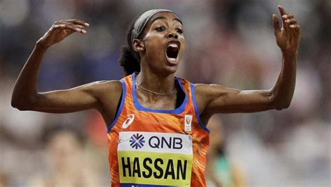 She won two gold medals at the 2019 world championships. 'Test me every day' says Salazar runner Hassan after golden double - other sports - Hindustan Times