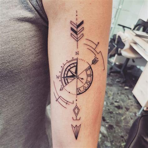 resultado de imagen  geometric compass tattoo