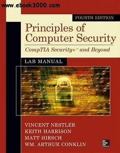Principles Of Computer Security Lab Manual  4th Edition