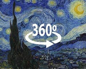 Van Goghu2019s U2018starry Nightu2019 In 360 Degrees